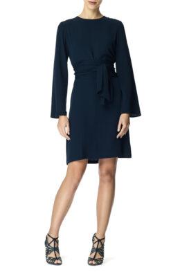 Emmie dress navy front 1