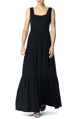 Claire gown black front 1