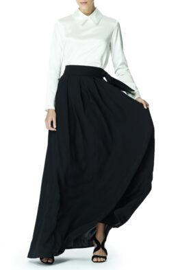 Louise skirt black front 1