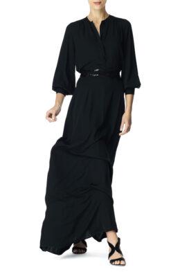Margaretha skirt black front 3